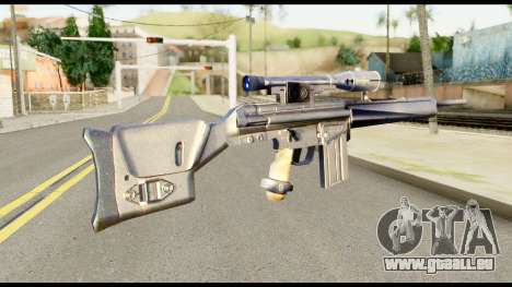 PSG1 from Metal Gear Solid pour GTA San Andreas deuxième écran