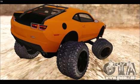 Chevrolet Camaro SUV Concept pour GTA San Andreas vue de droite