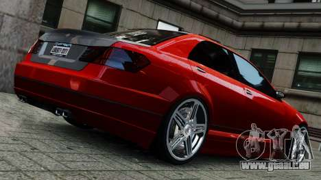 Schafter Gen. 2 Grey Series für GTA 4 linke Ansicht