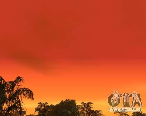 Réaliste ciel (Sky Mod) pour GTA San Andreas troisième écran