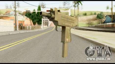 New Micro SMG für GTA San Andreas