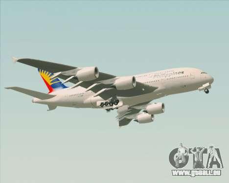 Airbus A380-800 Philippine Airlines pour GTA San Andreas vue de côté