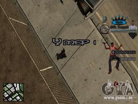 C-HUD Old Legend pour GTA San Andreas quatrième écran