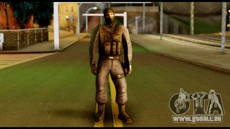 Counter Strike Skin 4 für GTA San Andreas