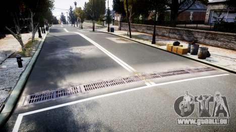 La Texture des routes en haute définition 2014 v pour GTA 4 secondes d'écran