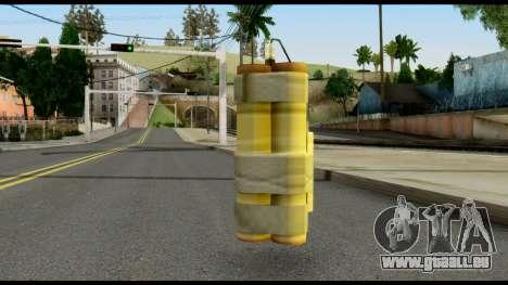 TNT from Metal Gear Solid pour GTA San Andreas deuxième écran