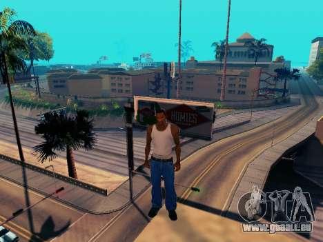 Graphique Mod Eazy v1.2 pour les faibles PC pour GTA San Andreas cinquième écran