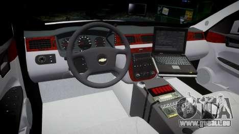 Chevrolet Impala Martin County Sheriff [ELS] pour GTA 4 Vue arrière