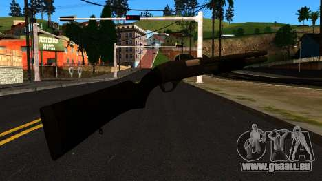 Schwarz MP-133 mit Glitter für GTA San Andreas zweiten Screenshot