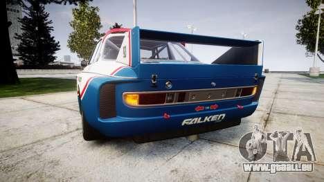 BMW 3.0 CSL Group4 [93] für GTA 4 hinten links Ansicht