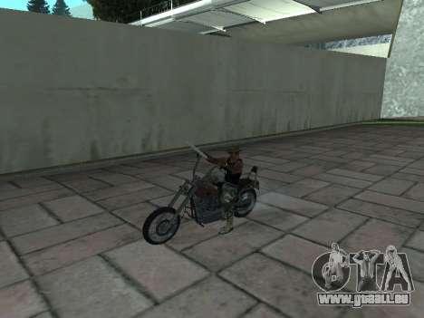 Angel GTA 4 TLaD pour GTA San Andreas vue de droite