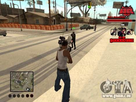 C-HUD Raisers pour GTA San Andreas quatrième écran