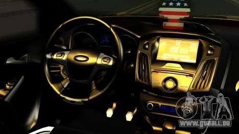 Ford Focus ST pour GTA San Andreas vue de droite