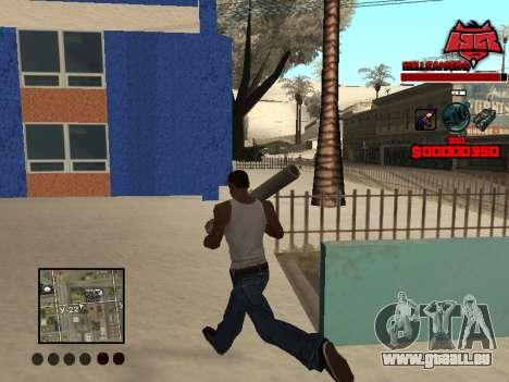 C-HUD Raisers pour GTA San Andreas troisième écran