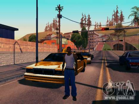 Graphique Mod Eazy v1.2 pour les faibles PC pour GTA San Andreas quatrième écran