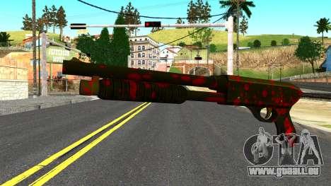 Shotgun with Blood pour GTA San Andreas