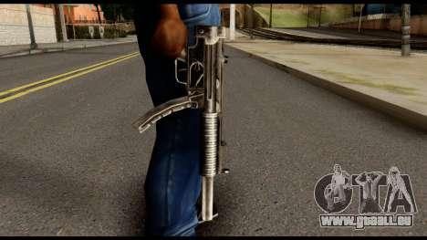 MP5 SD from Max Payne pour GTA San Andreas troisième écran