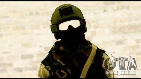 Attack Plane from Battlefield 4 pour GTA San Andreas troisième écran