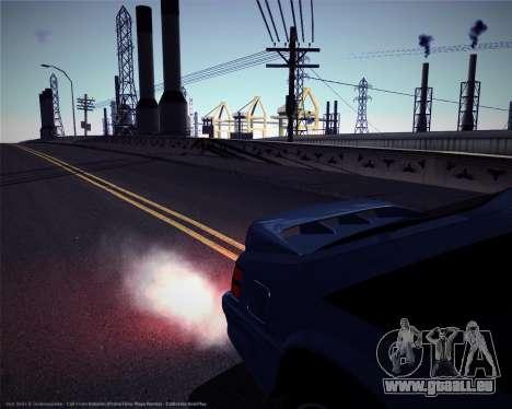 ENBSeries pour les faibles et moyennes PC pour GTA San Andreas cinquième écran