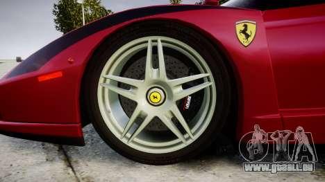 Ferrari Enzo 2002 [EPM] Stripes pour GTA 4 Vue arrière