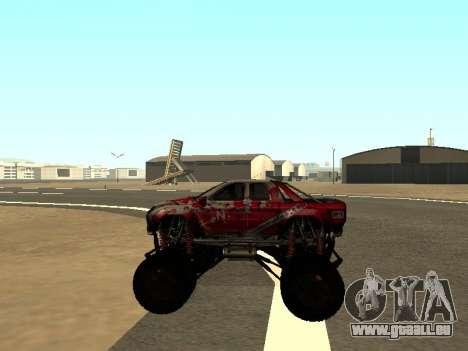 SuperMotoXL Zen MaXXimus CD 17.1 XL-HT pour GTA San Andreas vue intérieure