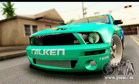 Ford Mustang Falken für GTA San Andreas