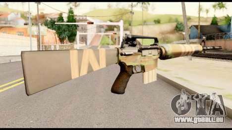M16 from Metal Gear Solid für GTA San Andreas zweiten Screenshot
