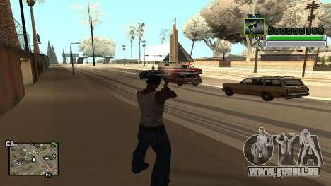 C-HUD v5.0 für GTA San Andreas