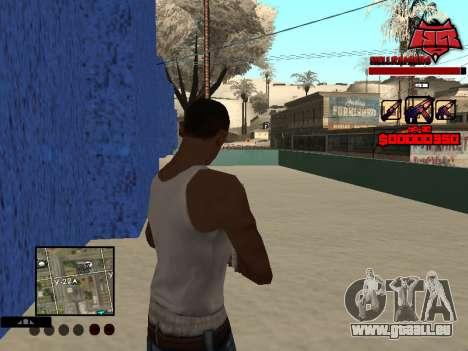 C-HUD Raisers pour GTA San Andreas