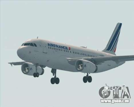 Airbus A319-100 Air France für GTA San Andreas