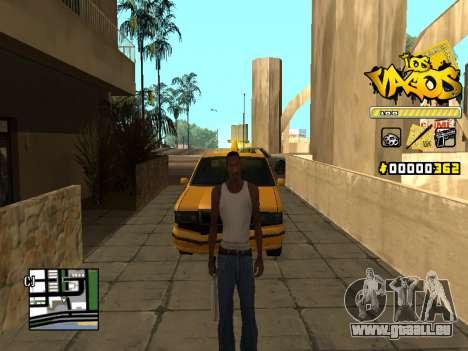 C-HUD Los Santos Vagos Gang für GTA San Andreas