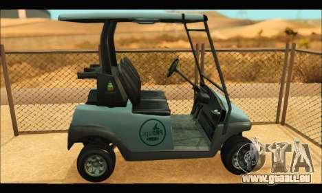 Caddy (GTA V) pour GTA San Andreas laissé vue