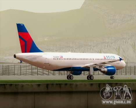 Airbus  A320-200 Delta Airlines für GTA San Andreas