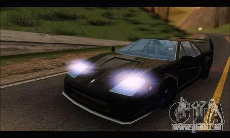 Turismo Limited Edition pour GTA San Andreas laissé vue