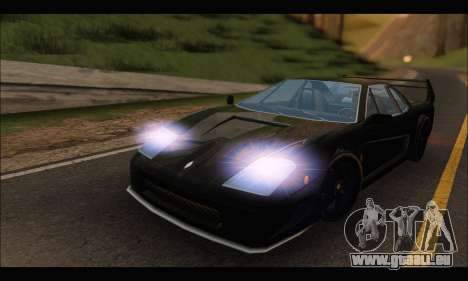 Turismo Limited Edition für GTA San Andreas linke Ansicht