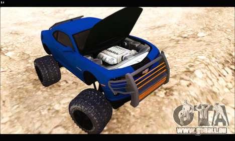 Chevrolet Camaro SUV Concept pour GTA San Andreas vue arrière