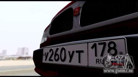GAZ 3110 Volga für GTA San Andreas Seitenansicht