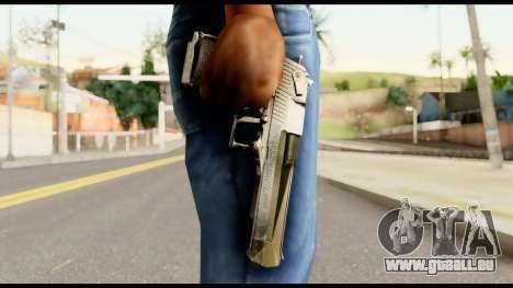 Desert Eagle from Metal Gear Solid für GTA San Andreas dritten Screenshot
