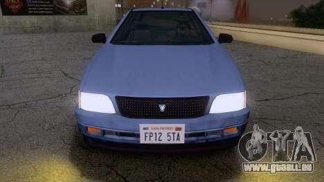 GTA V Ingot pour GTA San Andreas sur la vue arrière gauche