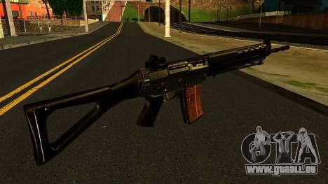SIG-550 from S.T.A.L.K.E.R. pour GTA San Andreas deuxième écran