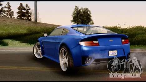 GTA 5 Dewbauchee Rapid GT Coupe [HQLM] pour GTA San Andreas vue de droite