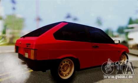 VAZ 2108 Hobo pour GTA San Andreas vue de côté