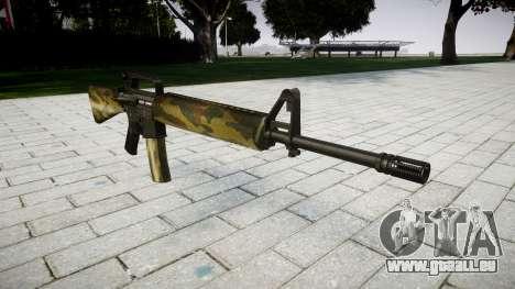 Le M16A2 fusil flore pour GTA 4
