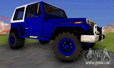 Messa Off-Road Styling pack v1 für GTA San Andreas rechten Ansicht