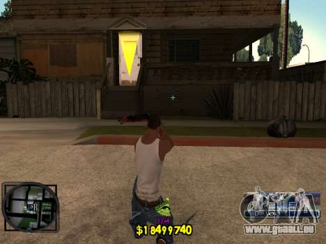 C-HUD Ghetto Life für GTA San Andreas zweiten Screenshot
