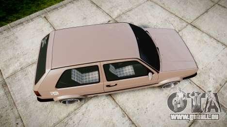 Volkswagen Golf MK2 GTi 1992 für GTA 4 rechte Ansicht