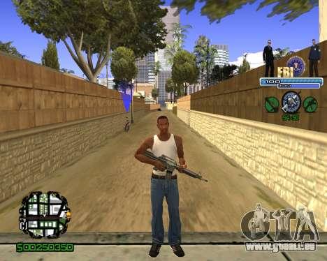 C-HUD FBI für GTA San Andreas dritten Screenshot