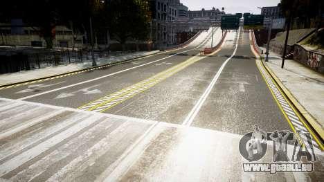 La Texture des routes en haute définition 2014 v pour GTA 4 troisième écran