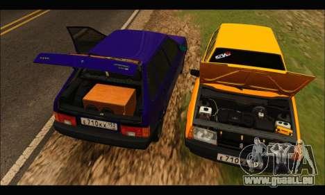 VAZ 2109 BPAN pour GTA San Andreas