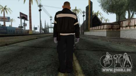 GTA 4 Skin 37 pour GTA San Andreas deuxième écran